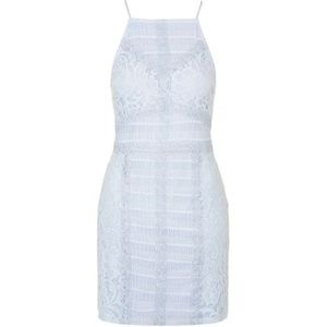 Top Shop Lace bodycon dress